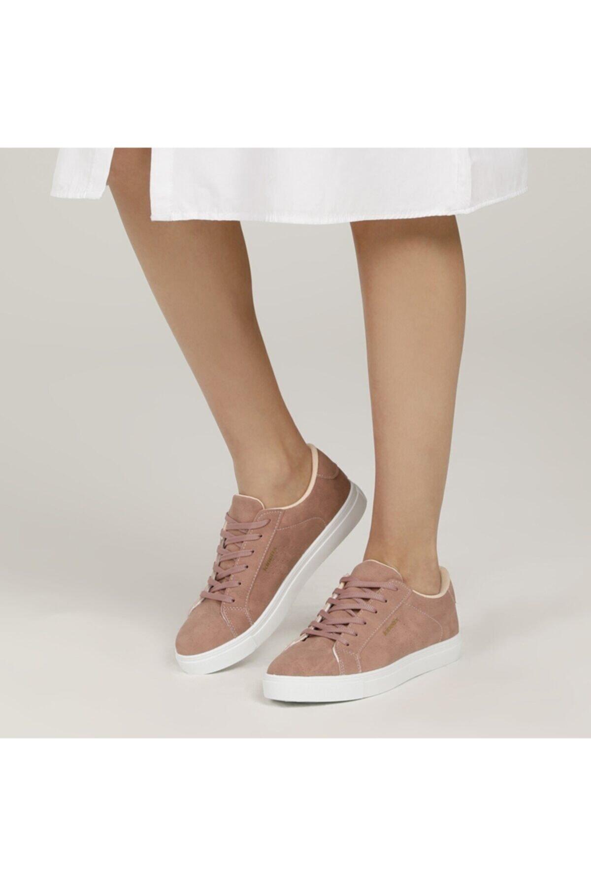 PORO 1FX Pembe Kadın Havuz Taban Sneaker 100786307