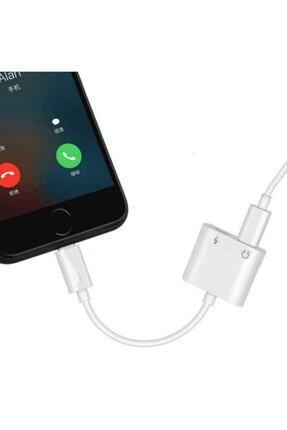 Ally Iphone Ipad Lightning Kulaklık Ve Şarj Çevirici Çoğaltıcı Kablo 3