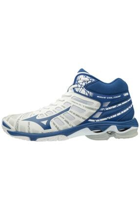 Picture of Erkek Beyaz Mavi Voleybol Ayakkabısı
