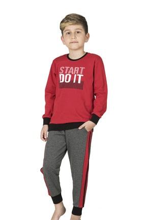Picture of Erkek Çocuk Kırmızı Pijama Takımı
