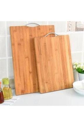 Bambu Aşçıbaşı Antibakteriyel Bambu Kesme Sunum Tahtası 34*24 Ve 30*20 cm 0