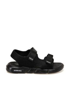 Dockers 228650 Siyah Erkek Sandalet 100497772 1