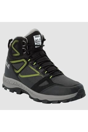 Picture of 4043871 Downhill Texapore Mid Black/lime Outdoor Erkek Bot