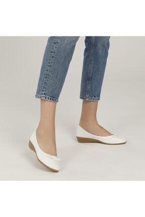 Polaris 161658.Z1FX Beyaz Kadın Comfort Ayakkabı 100984643 0