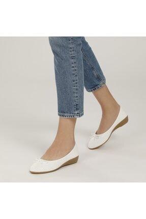 Polaris 161658.Z1FX Beyaz Kadın Comfort Ayakkabı 100984643 1