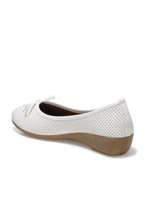 Polaris 161658.Z1FX Beyaz Kadın Comfort Ayakkabı 100984643 2