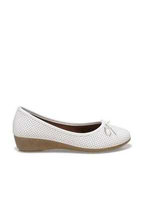 Polaris 161658.Z1FX Beyaz Kadın Comfort Ayakkabı 100984643 4