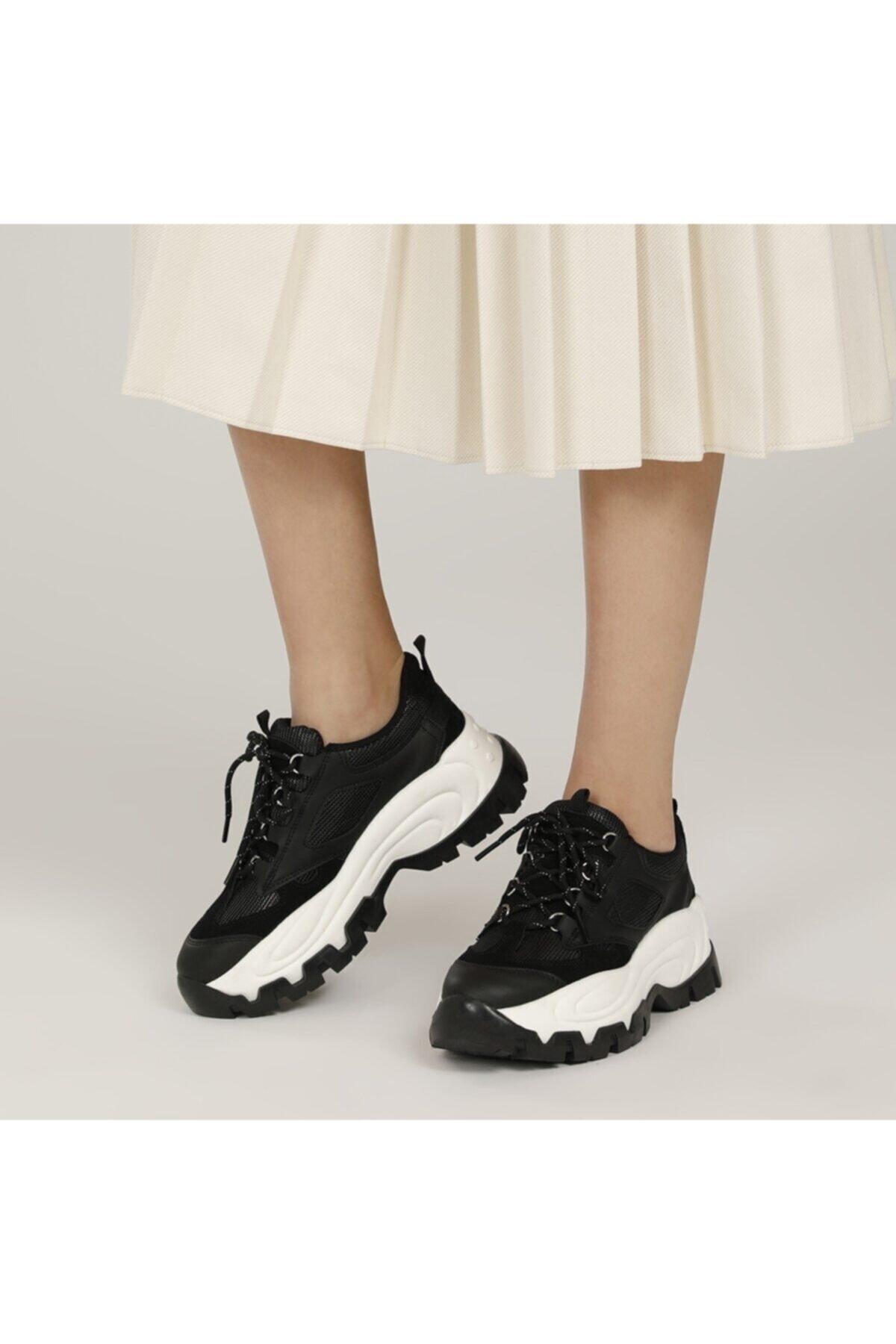 21S-0391FX Siyah Kadın Fashion Sneaker 101014274