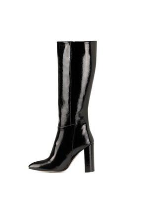 Nine West MIMA Siyah Kadın Ökçeli Çizme 100582033 3