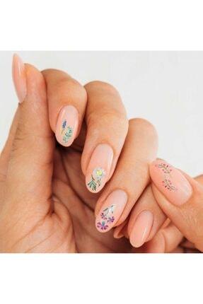 Artikel Çiçekler Tırnak Dövmesi,Tırnak Tattoo,Nail Art ,Tırnak Sticker 0