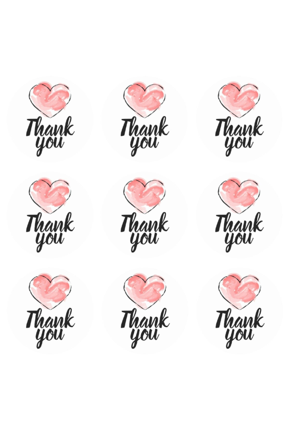 Sticker - Thank You
