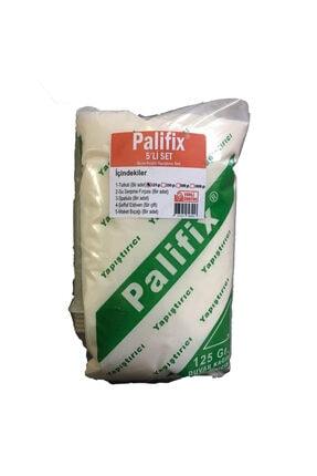 Palifix 5'li Set 125 gram Yapıştırıcı Duvar Kağıdı Uygulama Seti Yapıştırıcısı Tutkalı Glitolin 1