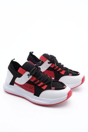 Marjin Kadın Streç Sneaker Spor Ayakkabı Felyabeyaz 4