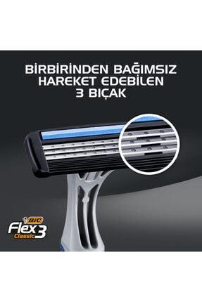Bic Flex 3 Tıraş Bıçağı 4 2'li 1