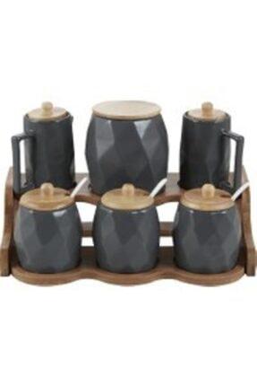 Acar Porselen 6 Lı Baharat Set YAM-010884/4