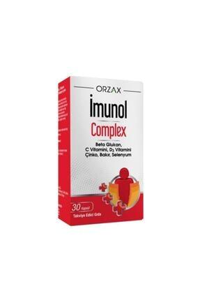 Orzax Imunol Complex Beta Glukan 30 Kapsül 0