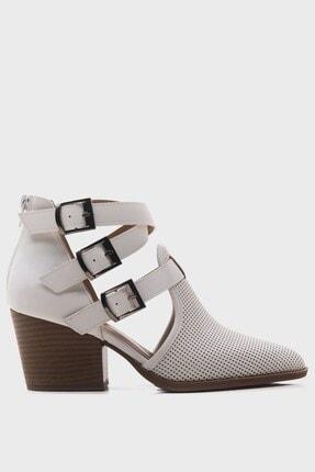 LuviShoes Kadın   Beyaz  Yazlık Bot 2030 4