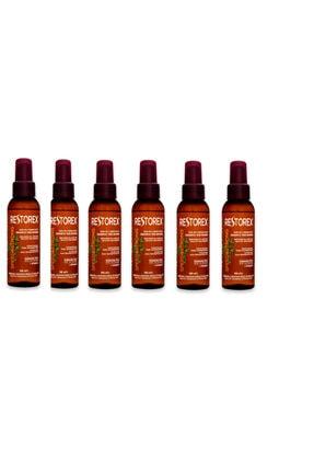 Restorex Sarmaşık Özlü Saç Bakım Yağı 100 ml X 6 Adet 0