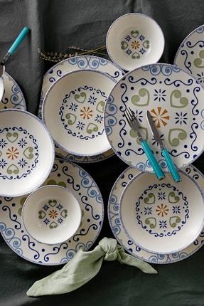 Karaca Akdeniz 6 Kişilik Yemek Takımı 4