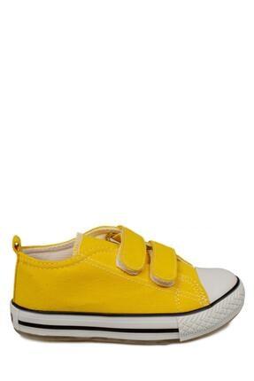 Vicco 925.p20y150 Patik Işıklı Keten Sarı Çocuk Spor Ayakkabı 2