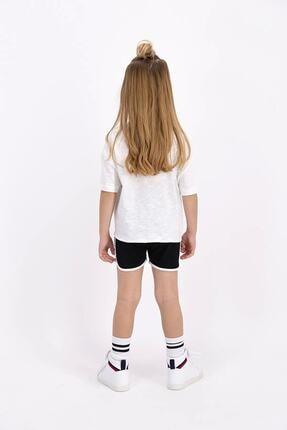 Rolypoly Kız Çocuk Krem Şort Takım 1