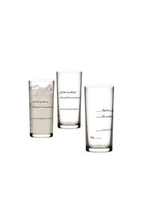 Paşabahçe Içelim Güzelleşelim 6lı Rakı Bardağı Seti 0
