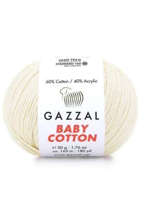 Gazzal Baby Cotton El Örgü Ipi 3437 0