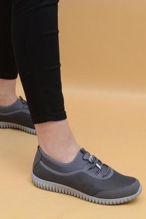 Evarmis Kadın Gri Günlük Spor Ayakkabı 1042 3