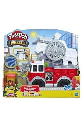 Play Doh Çalışkan İtfaiye Aracı E6103 0