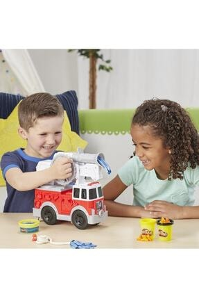 Play Doh Çalışkan İtfaiye Aracı E6103 2