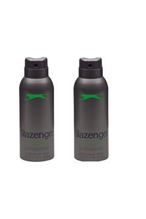 Slazenger Sport Deodorant Yeşil * 2 Adet * 0