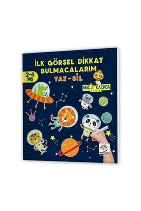 Yükselen Zeka Yayınları Evde Etkinlik Seti 2 – Mucit Karınca Serisi Yaz-sil Kitaplar / Çocuk Etkinlik Kitabı 1