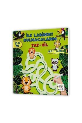 Yükselen Zeka Yayınları Evde Etkinlik Seti 2 – Mucit Karınca Serisi Yaz-sil Kitaplar / Çocuk Etkinlik Kitabı 2