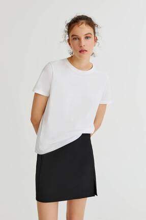 Pull & Bear 2'li Basic Pamuklu T-shirt Paketi 2