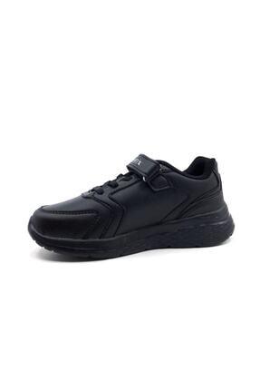 Kinetix Erkek Çocuk Siyah Günlük Spor Ayakkabı Marned 1