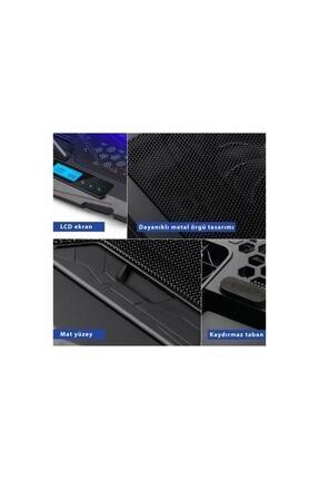 Frisby FNC-5230ST 4 Adet Fanlı Ledli LCD Kontrol Panelli Pro Standlı Notebook Soğutucu 2
