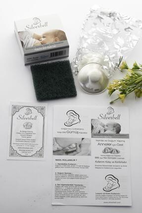 silverbell 999 Ayar Saf Gümüş Kapak Göğüs Kalkanı Gümüş Göğüs Kapağı Koruyucu Göğüs Ucu Kapakları Gümüş Memelik 0