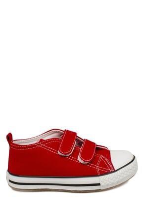 Vicco 925.p20y150 Patik Işıklı Keten Kırmızı Çocuk Spor Ayakkabı 2