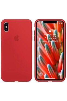 CAPIN Iphone X Xs Lansman Logolu Içi Kadife Renkli Silikon Kılıf X Kılıf 0