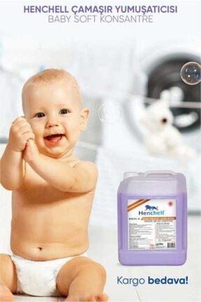 Henchell Konsantre Baby Soft Çamaşır Yumuşatıcısı 5 l 2