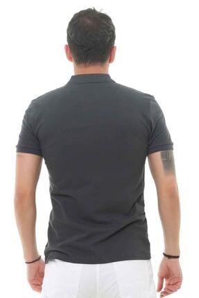 Cazador Erkek Gri Polo Yaka T-shirt 4613 2
