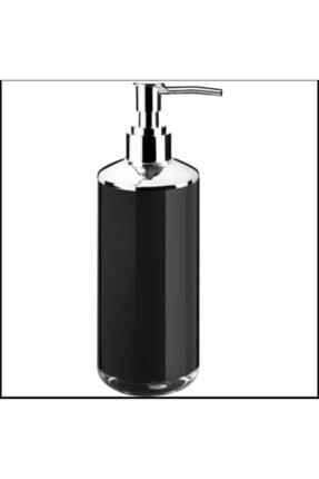 Lossa Siyah Akrilik Banyo Seti 5'li Krom Kaplama 2