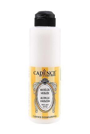 Cadence Boya Su Bazlı Yarı Mat Vernik 250 ml 0