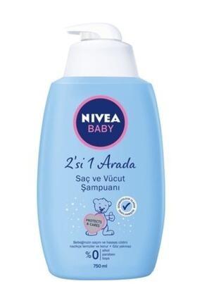Nivea Baby Saç Ve Vücut Şampuanı 750 Ml 0