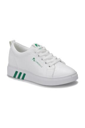Lumberjack Tina Beyaz Yeşil Kadın Sneaker Ayakkabı 100367303 0