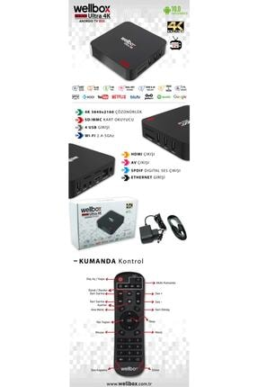 wellbox H3 4k Ultra Hd Android Tv Box 3