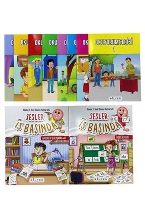 Bilfen Yayınları Bilfen 1. Sınıf Okuma Yazma Seti Sesler Iş Başında 3
