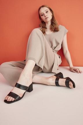 Hotiç Siyah Yaya Kadın Sandalet & Terlik 0
