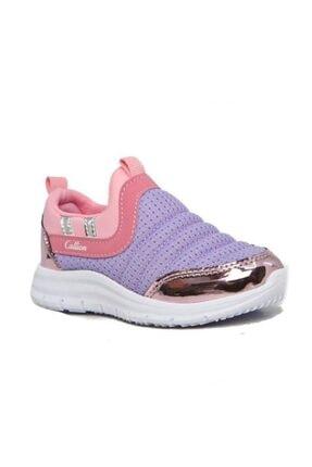 1006 Sneakers Aqua Filet Ayakkabı Lila Pembe Parlak resmi