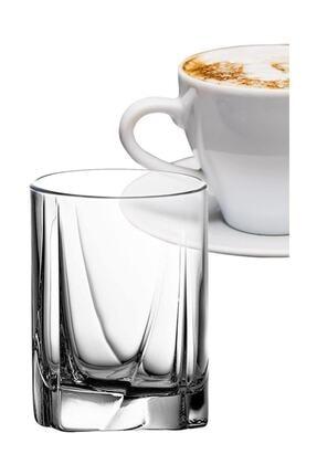 Paşabahçe 6'lı Luna Kahve Yanı Su Bardağı 0